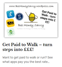 paid to walk